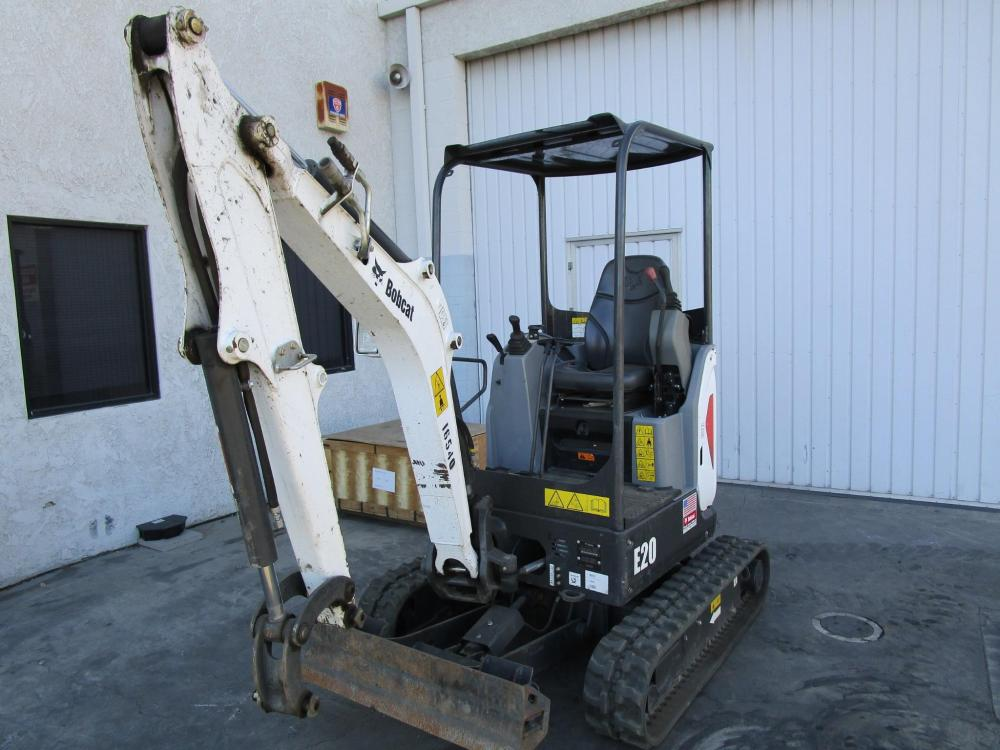 Detail photo of 2016 Bobcat E20 from Construction Equipment Guide
