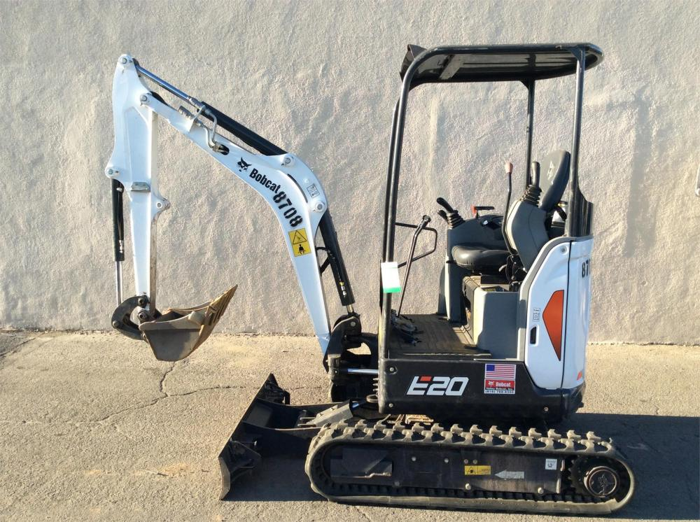 Detail photo of 2018 Bobcat E20 from Construction Equipment Guide
