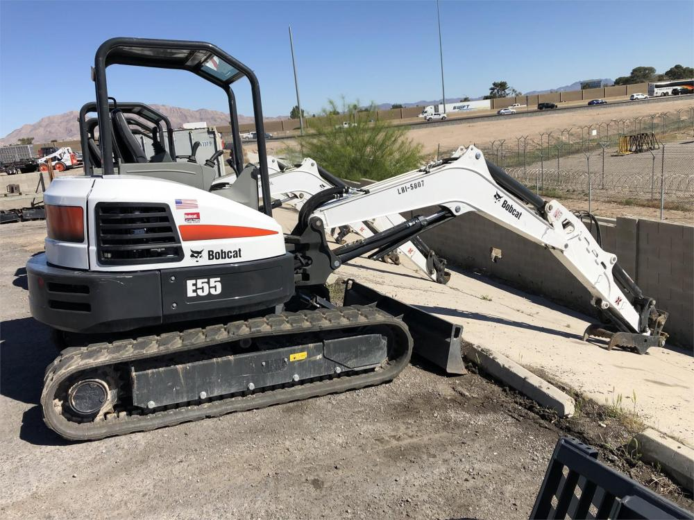 Detail photo of 2017 Bobcat E55 from Construction Equipment Guide
