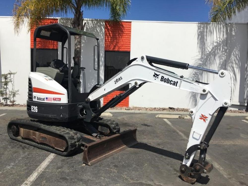 Detail photo of 2014 Bobcat E26 from Construction Equipment Guide