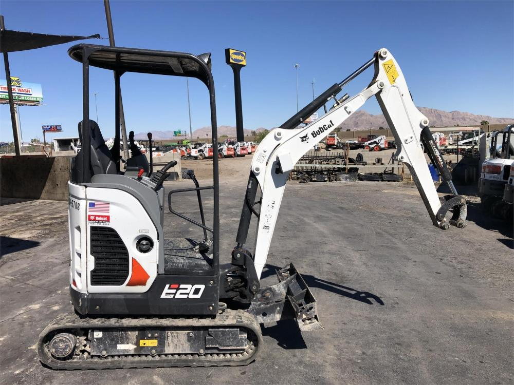 Detail photo of 2017 Bobcat E20 from Construction Equipment Guide