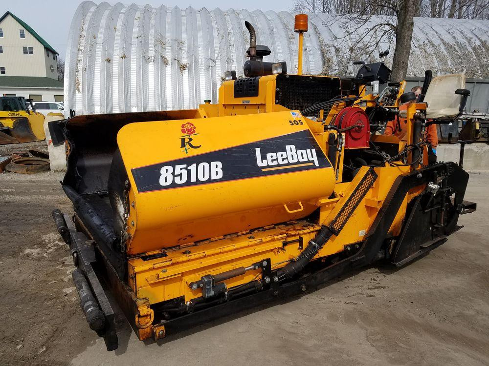 Detail photo of 2010 LeeBoy 8510 HD from Construction Equipment Guide
