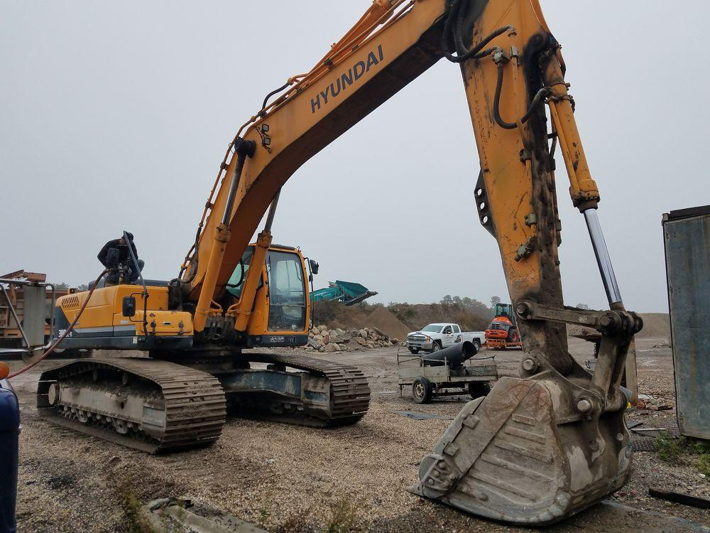 Detail photo of 2012 Hyundai HX380 LC-9 from Construction Equipment Guide