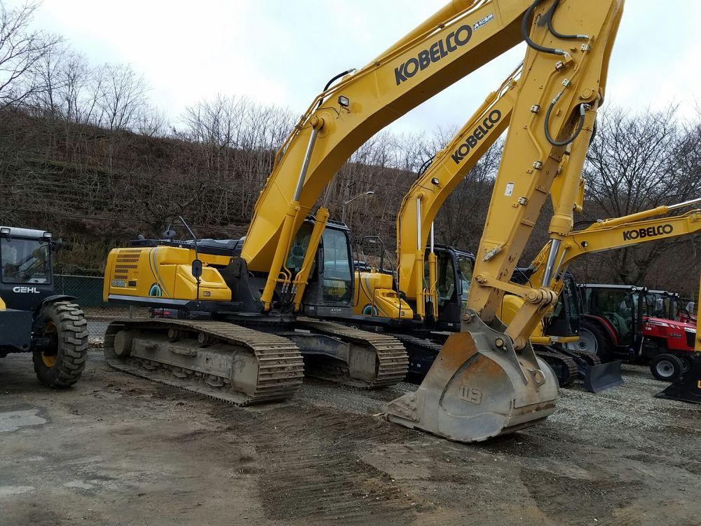 Detail photo of 2018 Kobelco SK350LC from Construction Equipment Guide