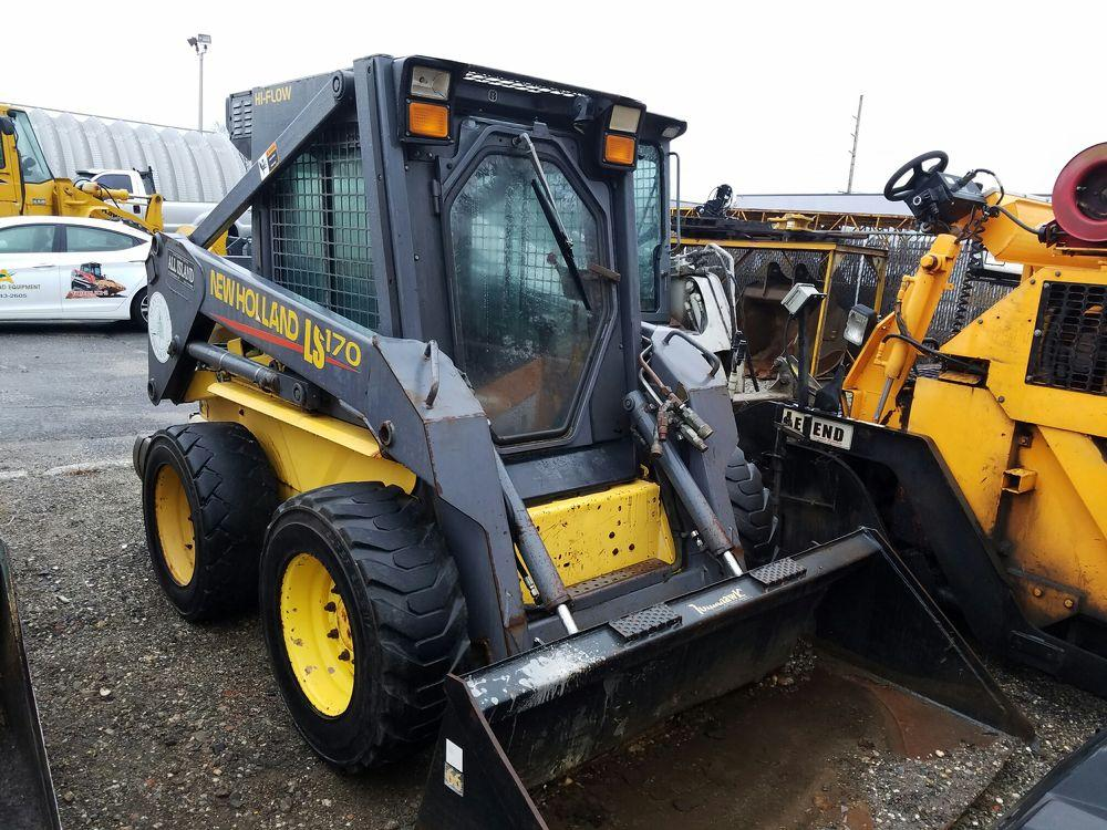 Detail photo of 0 New Holland LS170 from Construction Equipment Guide