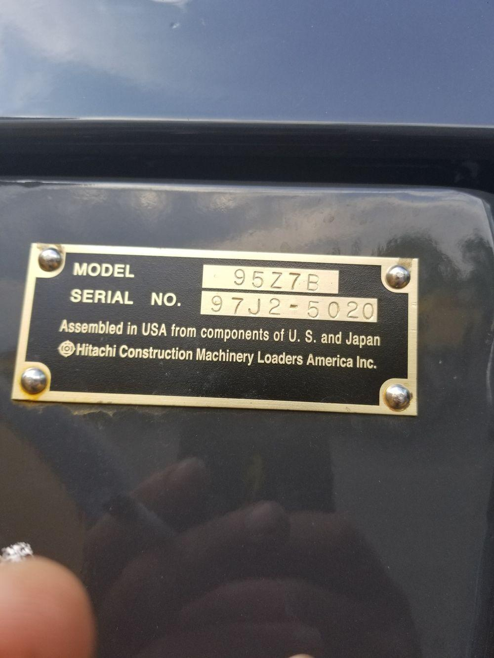 Detail photo of 2018 Kawasaki 95Z7 from Construction Equipment Guide