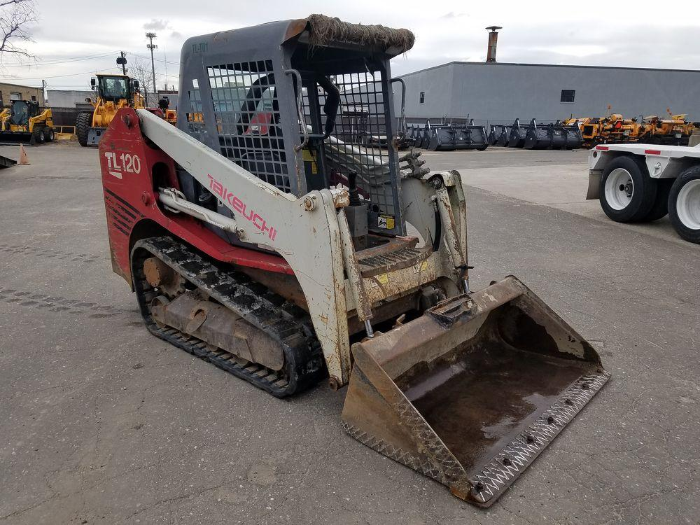 Detail photo of 2008 Takeuchi TL120 from Construction Equipment Guide