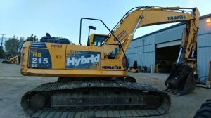 Detail photo of 2011 Komatsu HB215 LC-1 from Construction Equipment Guide