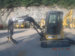 Detail photo of 2014 John Deere 35G from Construction Equipment Guide