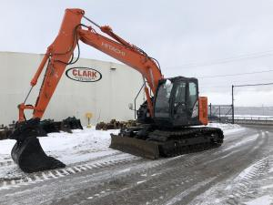 Detail photo of 2014 Hitachi ZX135US-5 from Construction Equipment Guide