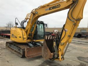 Detail photo of 2015 Kobelco 140SR LC from Construction Equipment Guide