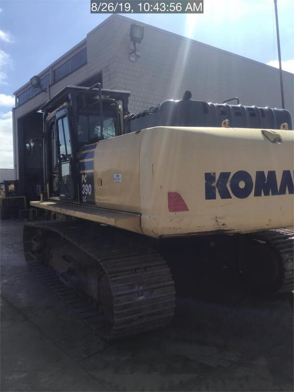 Detail photo of 2015 Komatsu PC390 LC-10 from Construction Equipment Guide