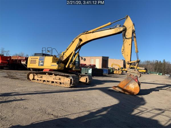 Detail photo of 2013 Komatsu PC390 LC-10 from Construction Equipment Guide
