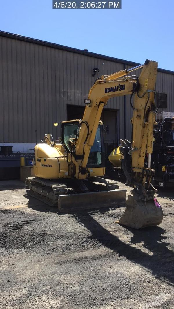 Detail photo of 2016 Komatsu PC88MR-10 from Construction Equipment Guide