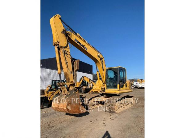 Detail photo of 2013 Komatsu PC160 LC from Construction Equipment Guide