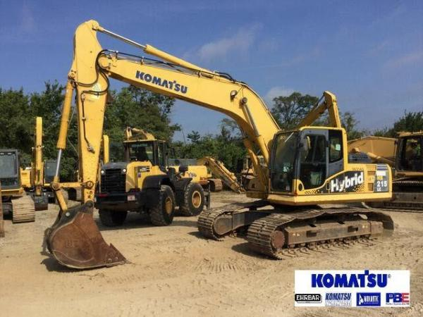 Detail photo of 2012 Komatsu HB215 LC-1 from Construction Equipment Guide