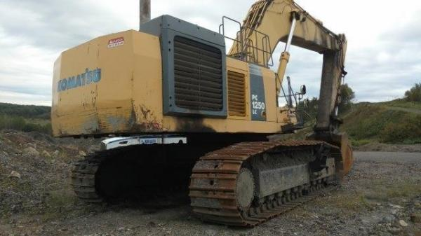 Detail photo of 2007 Komatsu PC1250 from Construction Equipment Guide