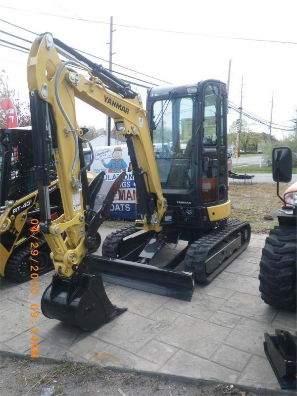 Detail photo of 2020 Yanmar VIO25-6A from Construction Equipment Guide