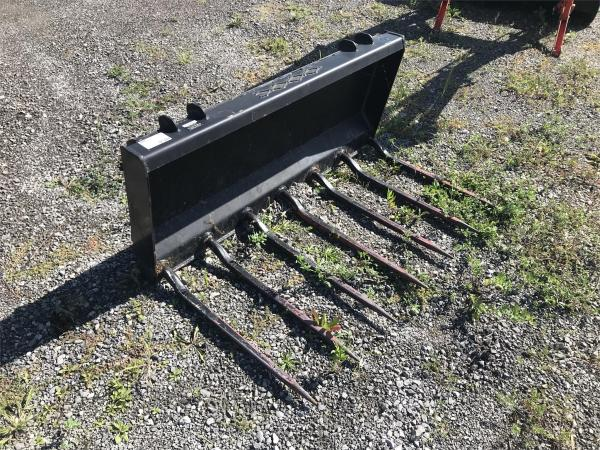 Detail photo of 2013 HLA SS QA MANURE FORKS LDFE48B0500 from Construction Equipment Guide