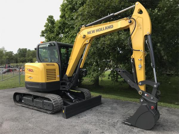 Detail photo of  New Holland E60C from Construction Equipment Guide