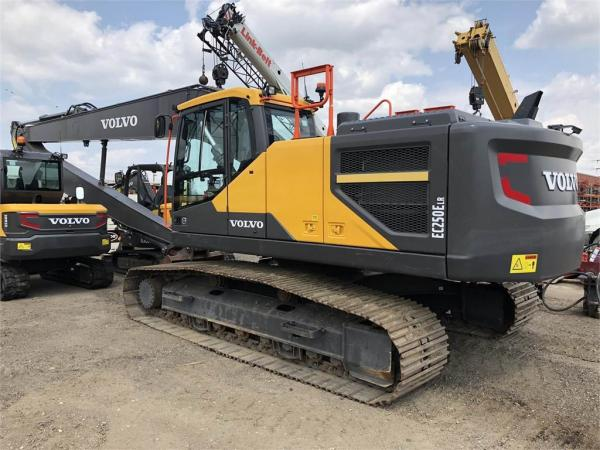Detail photo of 2017 Volvo EC250E LR from Construction Equipment Guide