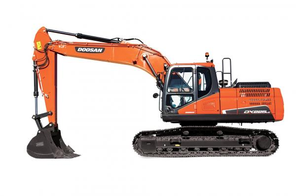 Detail photo of 2018 Doosan DX180LC-5 from Construction Equipment Guide