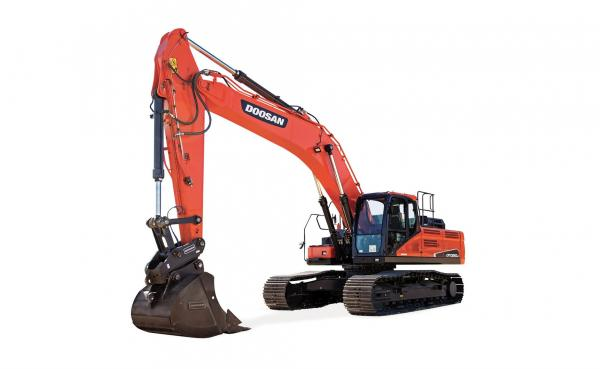Detail photo of 2018 Doosan DX300LC-5 from Construction Equipment Guide