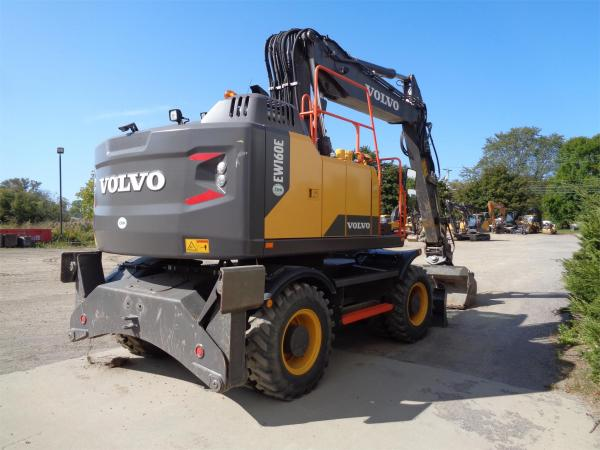 Detail photo of 2017 Volvo EW160E from Construction Equipment Guide