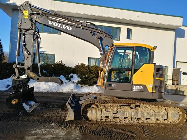 Detail photo of 2019 Volvo ECR145EL from Construction Equipment Guide