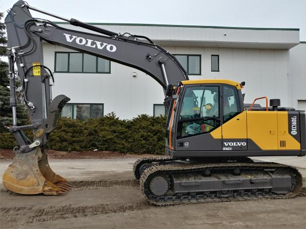 Detail photo of 2020 Volvo EC160EL from Construction Equipment Guide