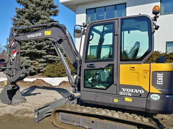 Detail photo of 2020 Volvo EC60E from Construction Equipment Guide