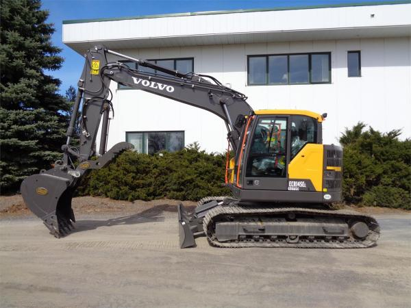 Detail photo of 2020 Volvo ECR145EL from Construction Equipment Guide