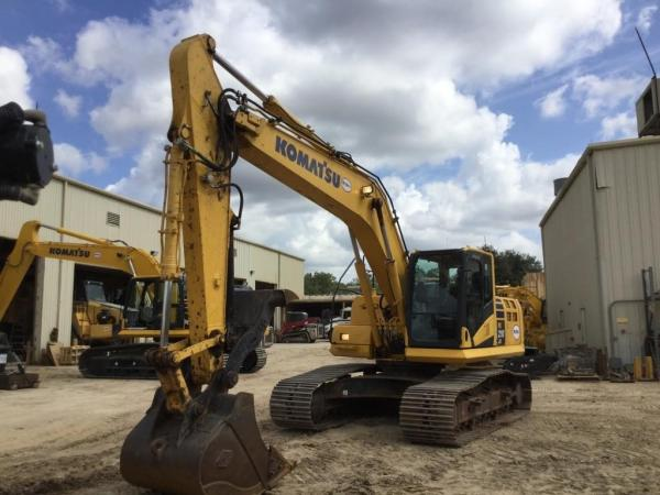 Detail photo of 2016 Komatsu PC210LC from Construction Equipment Guide