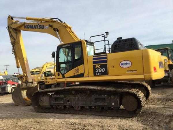 Detail photo of 2018 Komatsu PC390LC-11 from Construction Equipment Guide