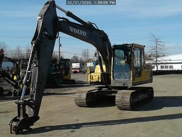 Detail photo of 2004 Volvo EC140 from Construction Equipment Guide