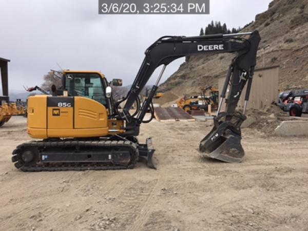 Detail photo of 2018 John Deere 85G from Construction Equipment Guide
