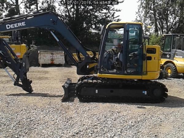 Detail photo of 2019 John Deere 85G from Construction Equipment Guide