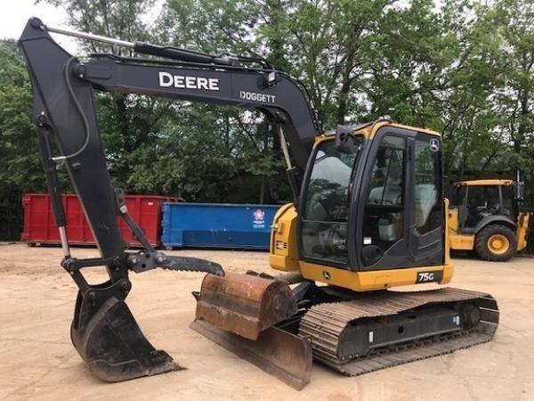 Detail photo of 2019 John Deere 75G from Construction Equipment Guide