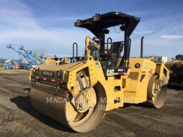 Detail photo of 2008 Caterpillar CB534D from Construction Equipment Guide