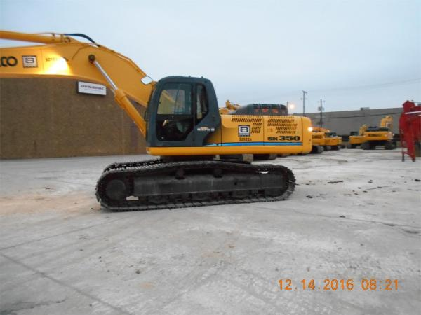 Detail photo of 2008 Kobelco SK350 LC-8 from Construction Equipment Guide
