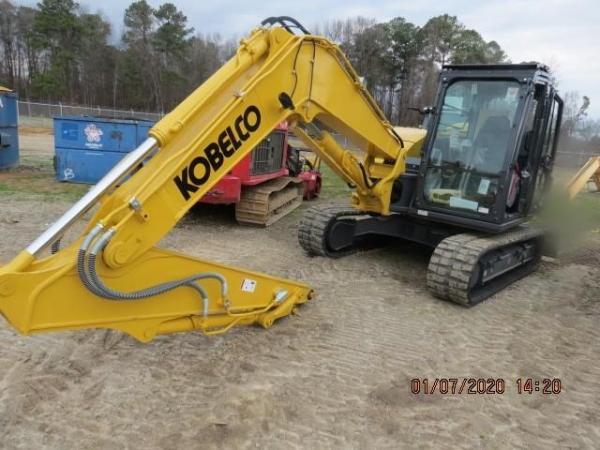 Detail photo of 2020 Kobelco SK85CS-7 from Construction Equipment Guide