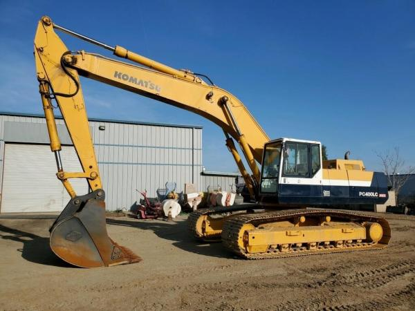 Detail photo of 1995 Komatsu PC400LC-5 from Construction Equipment Guide
