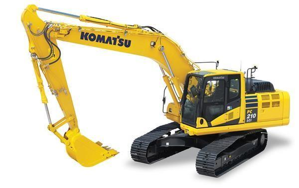 Detail photo of 2015 Komatsu PC210LC from Construction Equipment Guide