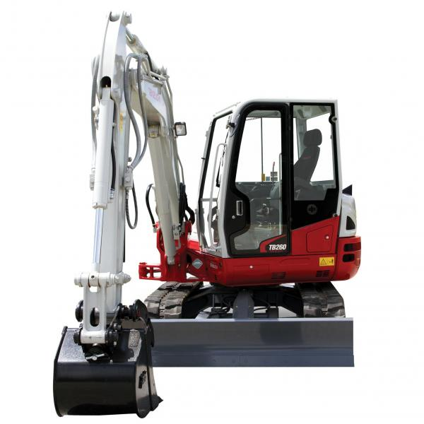 Detail photo of 2020 Takeuchi TB260CR from Construction Equipment Guide
