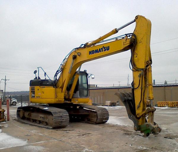 Detail photo of 2009 Komatsu PC308USLC-3E0 from Construction Equipment Guide