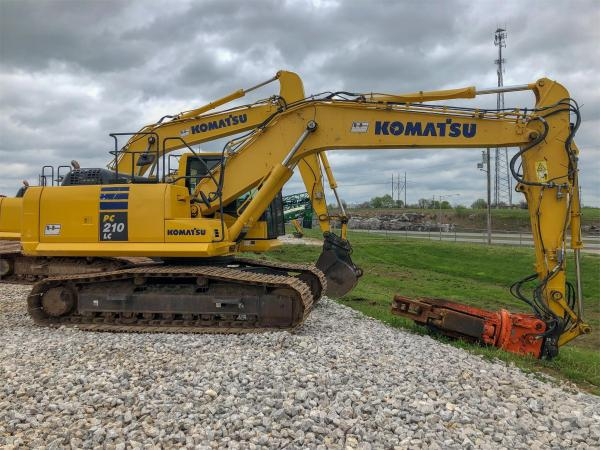 Detail photo of 2014 Komatsu PC210LC-10 from Construction Equipment Guide