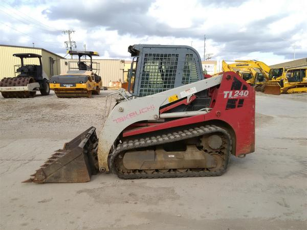 Detail photo of 2008 Takeuchi TL240 from Construction Equipment Guide