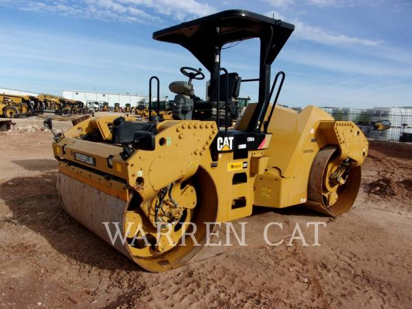 Detail photo of 2014 Caterpillar CB 64 from Construction Equipment Guide