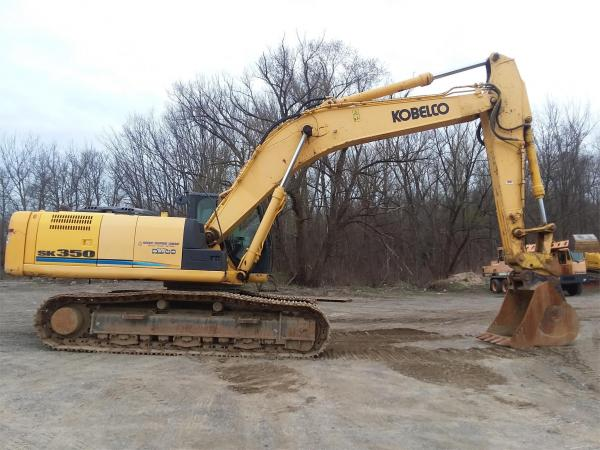 Detail photo of 2012 Kobelco SK350-9 from Construction Equipment Guide