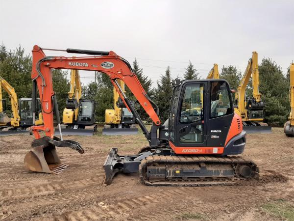 Detail photo of 2016 Kubota KX080-4 from Construction Equipment Guide